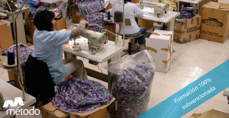 Cursos e-learning de textil