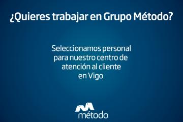 Oferta de empleo en Vigo: Centro de atención al cliente