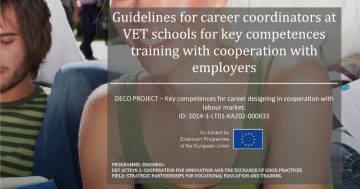Key competences training guidelines