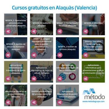 Cursos gratuitos en Alaquàs (Valencia)