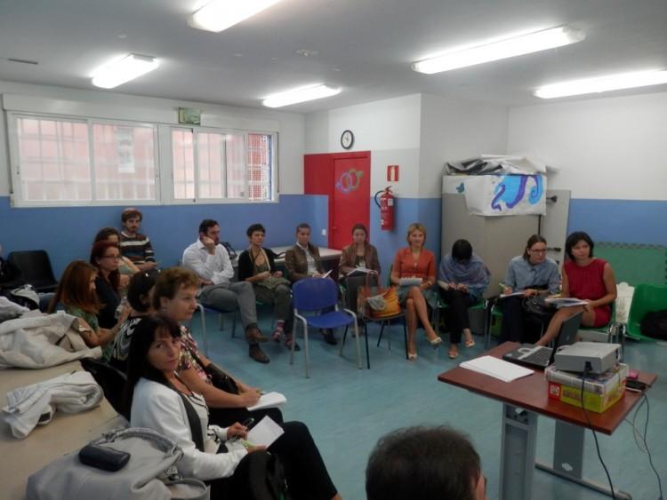 Proyecto en Rumanía. Visita de estudio a Madrid