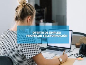 Oferta de empleo: profesor teleformación