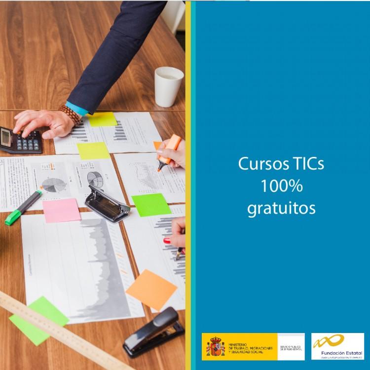 Cursos TICs para el sector servicios a las empresas