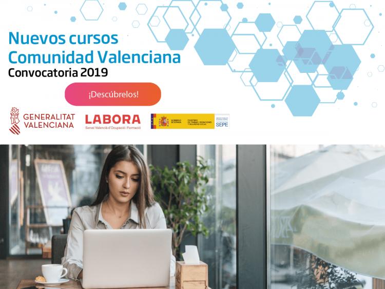 cursos subvencionados Comunidad Valenciana