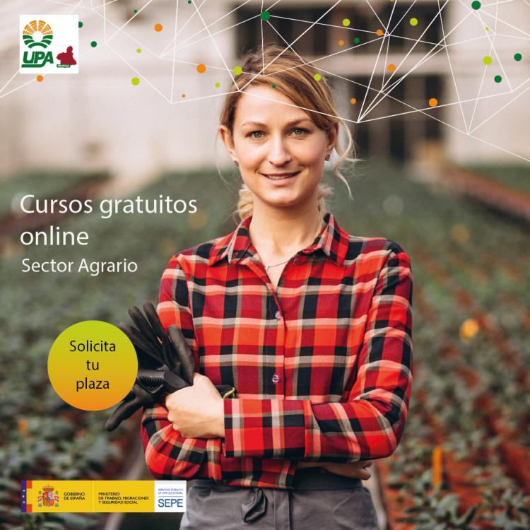 Cursos online gratuitos para trabajadores del sector agrario