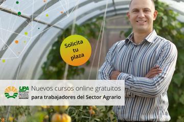 Formación subvencionada para trabajadores y autónomos del sector agrario