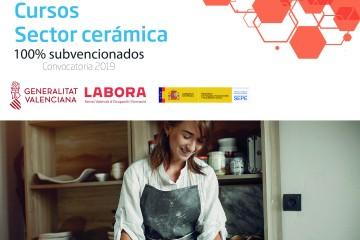 Formación subvencionada para trabajadores del sector cerámica
