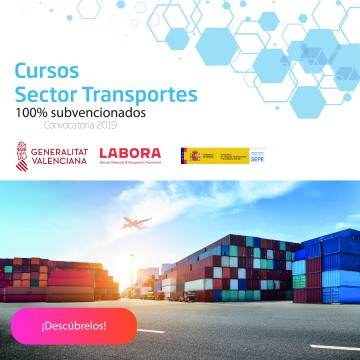 Formación subvencionada para trabajadores del sector transporte